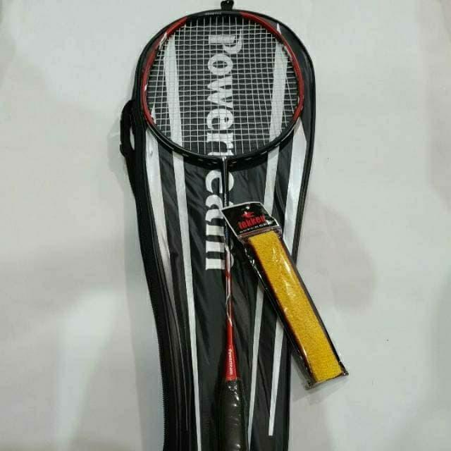 Foto Produk Raket Badminton Senar + Tas + Grip POWER dari Sanz-store