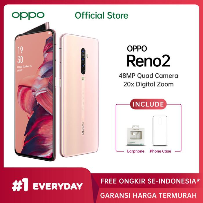 Foto Produk OPPO RENO2 Smartphone 8GB/256GB (Garansi Resmi) - Sunset Pink dari OPPO OFFICIAL STORE