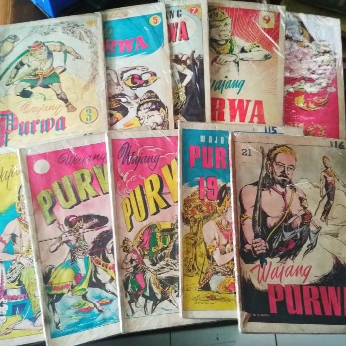 Jual Komik Indonesia Kuno Wayang Purwa Kota Magelang Sastro Antik Tokopedia