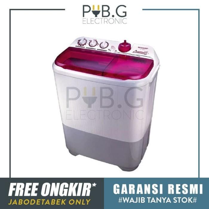 Jual Sharp Mesin Cuci Dua Tabung 8 Kg Es T85cr Pk Garansi Resmi Jakarta Pusat Pub G Electronic Tokopedia