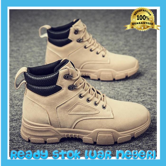 Foto Produk Busana musim gugur pria Korea Martin boots pria gaya Inggris sepatu dari TOKO MUSLIM HANI