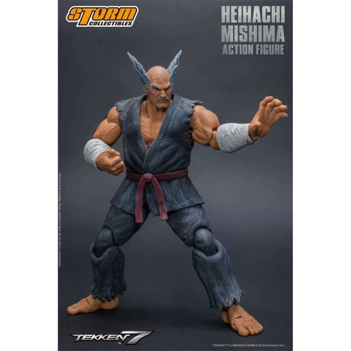 Jual Heihachi Mishima Action Figure Tekken 7 Kota Semarang Markmanship Tokopedia
