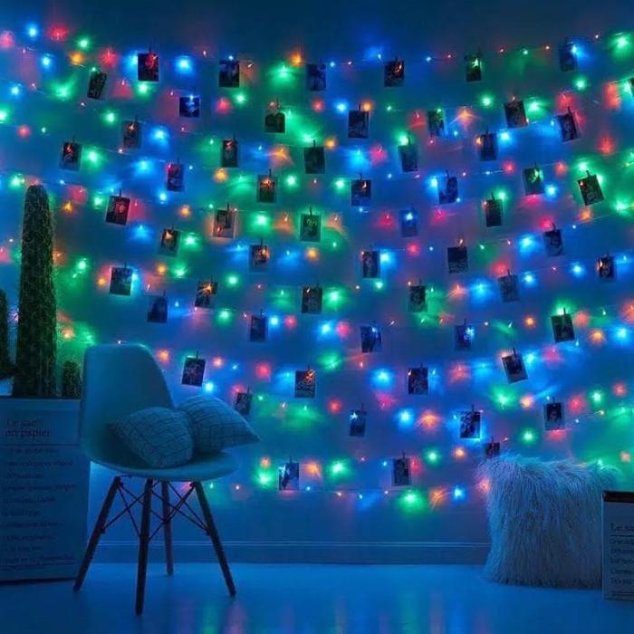 Foto Produk Lampu Tumbler H001 Lampu Hias Dekorasi Lampu Natal Lampu Led Ricelamp dari anisa-Store45