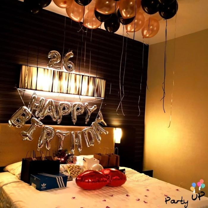 Jual Paket Birthday Simple Bedroom Decoration Jakarta Timur Perra Store Tokopedia