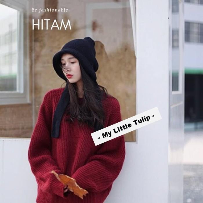 Foto Produk Topi Panjang Hoodie Hood Winter Korea Spring Autumn Traveling Style Ke dari marettastore