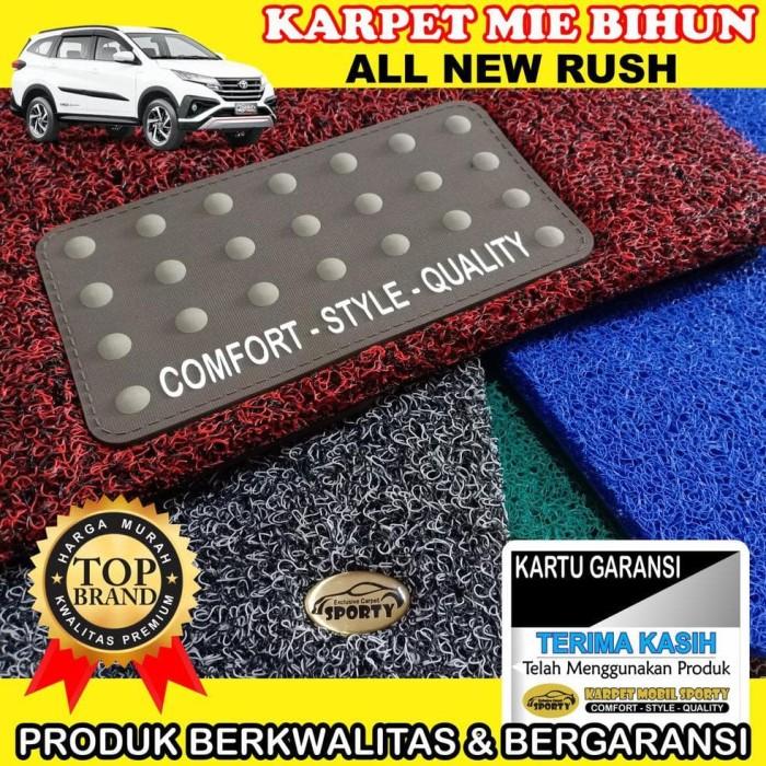 Foto Produk Termurah Karpet Mobil Mie Bihun All New RUSH Non Bagasi - Bahan 1 dari dasamukaringgitpurwo