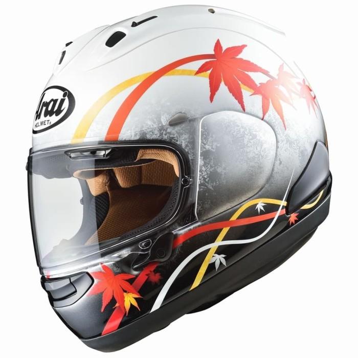 Foto Produk Arai SNI RX7X KAEDE Limited Edition Original Helm Full Face- White Red - M dari Arai Indonesia