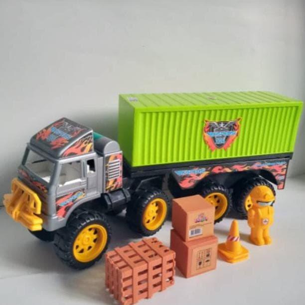 Jual Mainan Truk Kontainer Mobil Box Container Jumbo Panjang 60cm Jakarta Barat Resty Official Tokopedia
