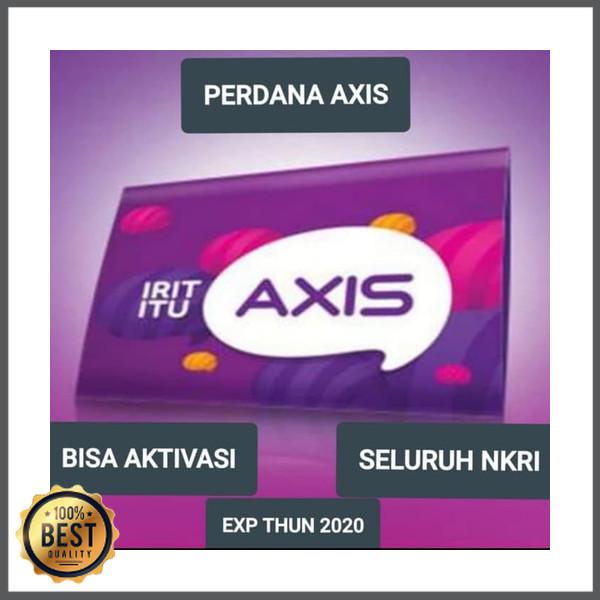 Foto Produk Eceran kartu perdana Axis 4G segel 31 januari 2019 dari fadillah 98