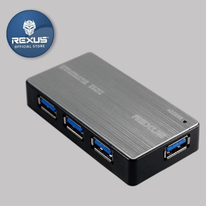 Foto Produk Terlaris ! Rexus Usb Hub 308 ® dari Diwangka-Tronik