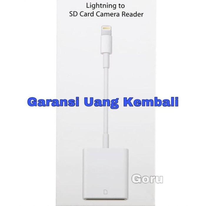 Foto Produk Terlaris ! Apple Lightning To Sd Card Camera Reader Iphone Ipad dari Dewanto-Tronik