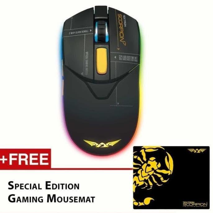 Foto Produk Terlaris ! Armaggeddon Gaming Mouse Scorpion 7 -Rgb Mouse- Free dari darojati-Tronik
