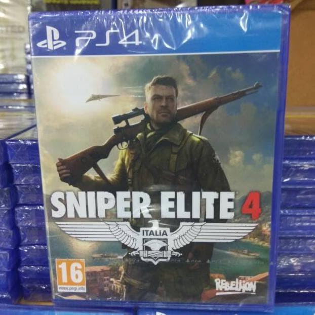 Foto Produk Terpopuler ! PS4 SNIPER ELITE 4 Q dari filo OFFICIAL