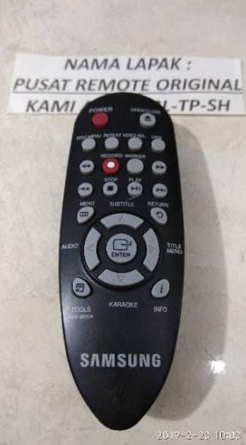 Foto Produk Terpopuler ! REMOTE REMOT DVD SAMSUNG KECIL ORIGINAL ASLI Q dari gaudiocio OFFICIAL