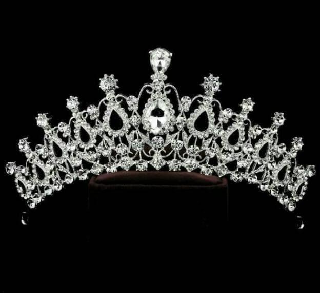 Foto Produk Terpopuler ! Mahkota Wedding Crown Headpiece Q dari hanai OLSHOP