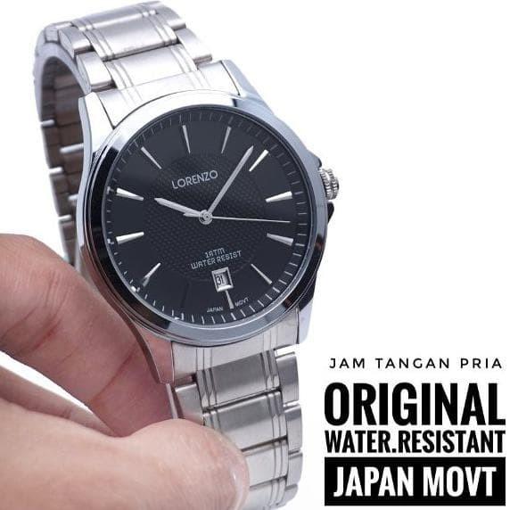 Foto Produk Terpopuler ! Jam Tangan Pria Original Lorenzo by hargajam Cowok model dari hariyanto OLSHOP
