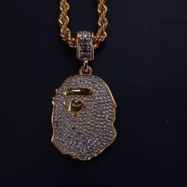 Foto Produk Terpopuler ! Bape necklace Q dari hariyanto OLSHOP