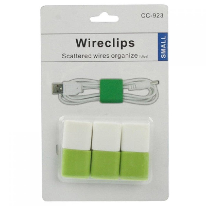 Foto Produk Smart Wire Cable Clips 6pcs murah murah dari satu harapan baru