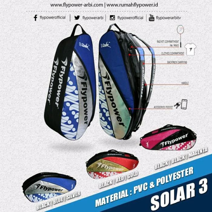 Foto Produk Tas Flypower SOLAR 3 Backpack original dari Kamekko Conquest