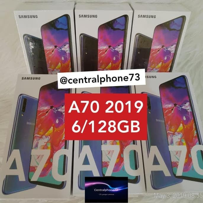 Foto Produk Terlaris Samsung Galaxy A70 2019 6/128Gb Garansi Resmi Sein - Biru dari storebeta