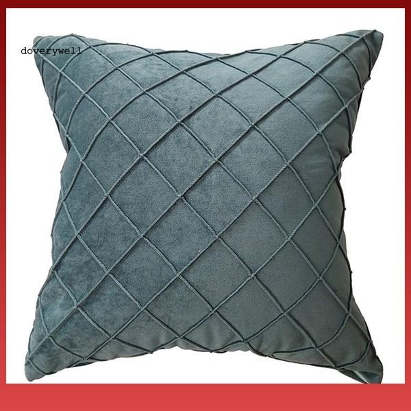 Foto Produk Ra Sarung Bantal Sofa Tebal Motif KotakKotak untuk Dekorasi dari Rido Aluminium