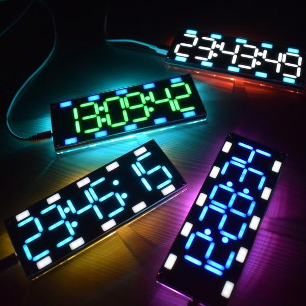 Foto Produk Ps Geekcreit DIY 6 Digit LED Layar Besar Dua Warna Digital dari pandawa store5