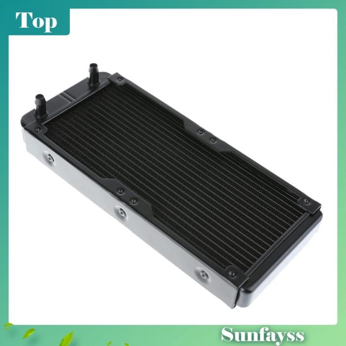 Foto Produk [Sun] 1Pc Radiator Heat Sink 240mm 18 Tube Bahan Aluminium untuk dari Ravamo Store