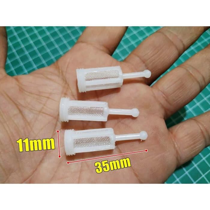 Foto Produk Set 3pcs Kasa Saringan Cat Tabung Spray Gun Gravity Filter Cup dari Pancar Teknik