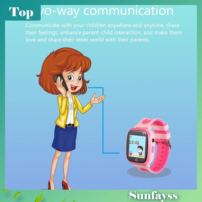Foto Produk [Sun] B7 Smartwatch Anak Layar Sentuh 1.44inci Anti Hilang dengan dari Ravamo Store