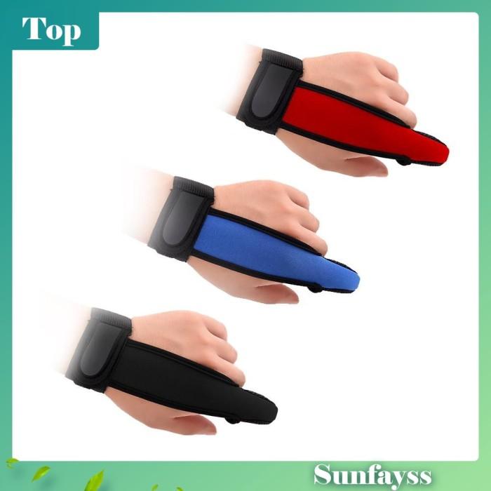 Foto Produk 1Pc Sarung Tangan Pelindung Jari Anti Slip untuk Memancing dari Ravamo Store