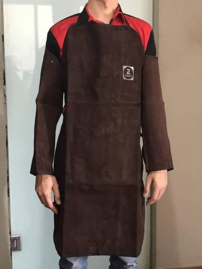 Foto Produk Apron Set Dada Lengan Adjustable Eissen Baju Las Berkualitas dari Pancar Teknik