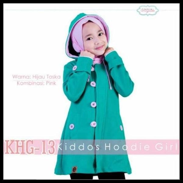 Foto Produk Jual Murah Jaket Anak Perempuan Muslimah Lucu . Jaket Anak Cewek Korea dari usna21