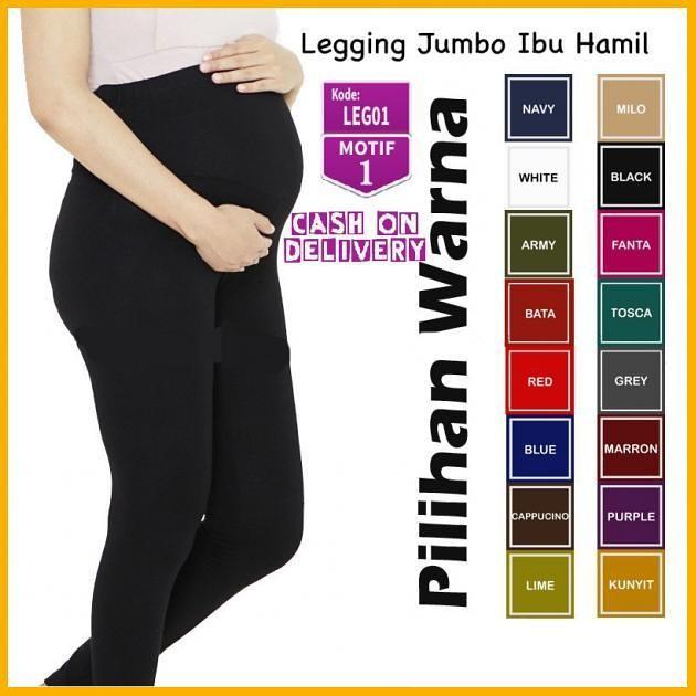 Jual Leg01 Celana Legging Jumbo Panjang Wanita Ibu Hamil Bahan Leging Adem Jakarta Selatan Akhmadjayasumber Tokopedia
