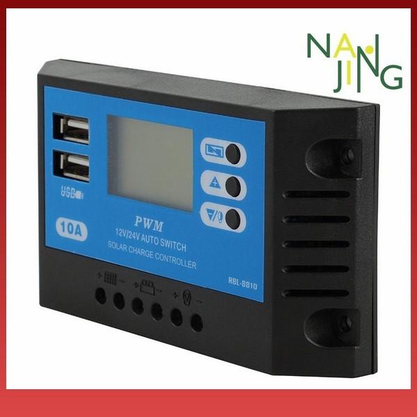 Foto Produk Ef NanjingCOD12V24V 10A HD LCD Display PWM Auto Solar Panel dari Earlyta 16 Fashion