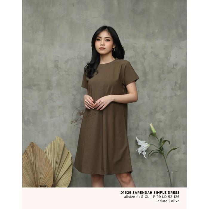 Foto Produk D1629 SARENDAH SIMPLE DRESS - MACADAMIA HOUSE dari remindstores