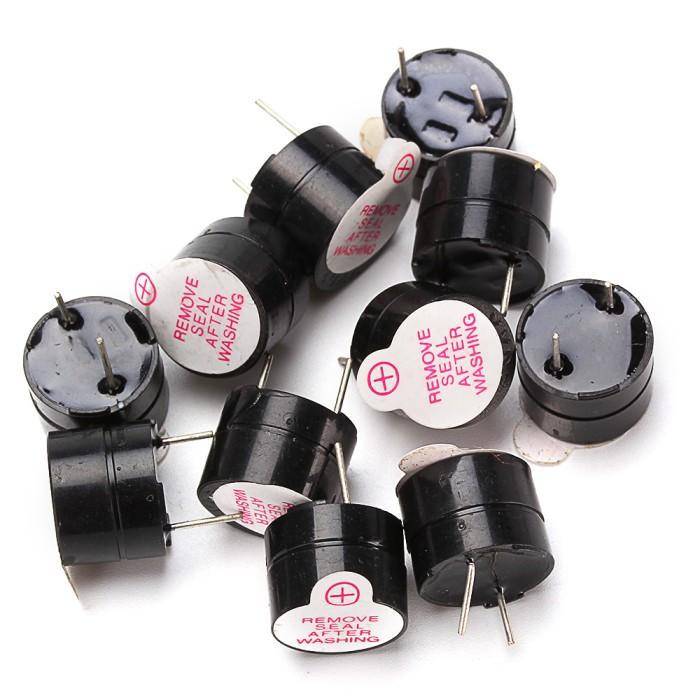 Foto Produk Ps 10 pcs 3 V Active Buzzer SOT Elektromagnetik Plastik dari pandawa store5