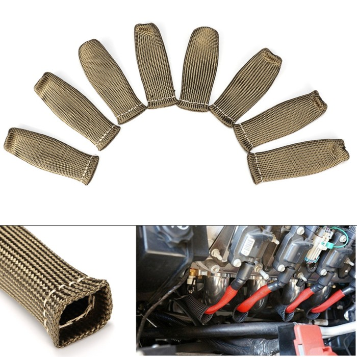 Foto Produk Mb 2500 Spark Plug Wire Boots Protector Sleeve Heat Shield dari Multishop Bandung