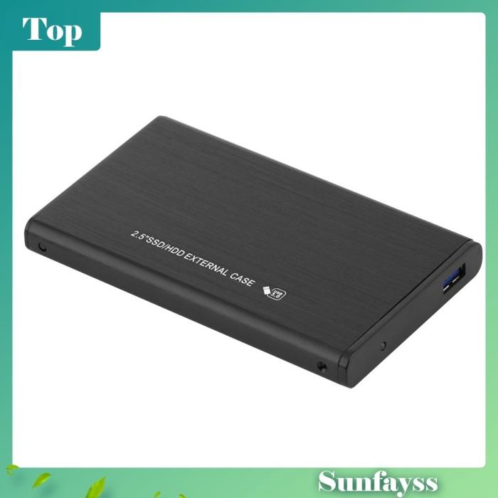 Foto Produk [Sun] Casing Enclosure Hard Disk External 2.5 Inch USB3.0 SDD HD dari Ravamo Store
