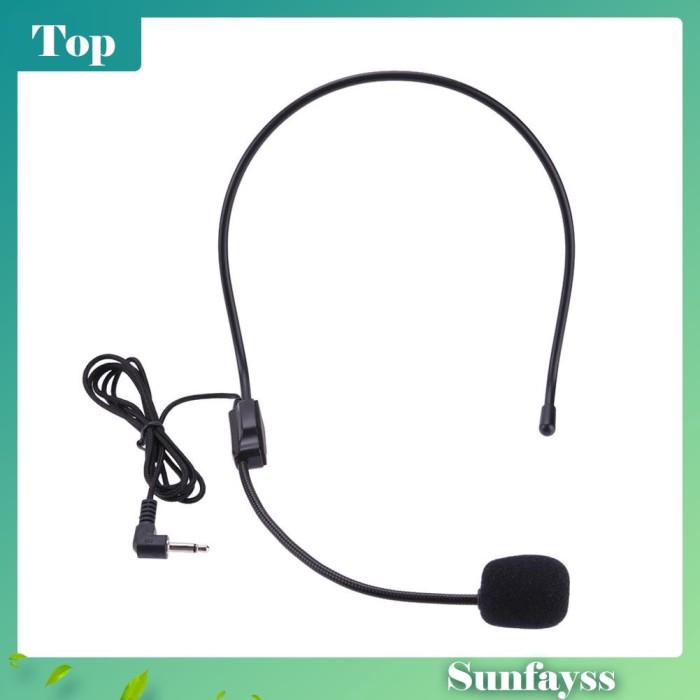 Foto Produk [Sun] Headset Portable Ringan dengan Kabel + Plug 3.5mm + Microphone dari Ravamo Store