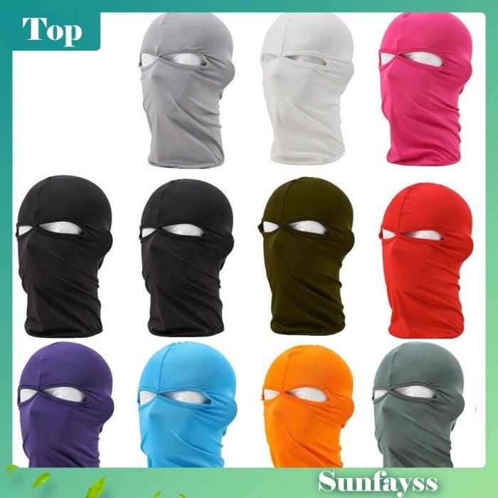 Foto Produk Masker Full Face Balaclava Pelindung Wajah Untuk Bersepeda / Ski / dari Ravamo Store