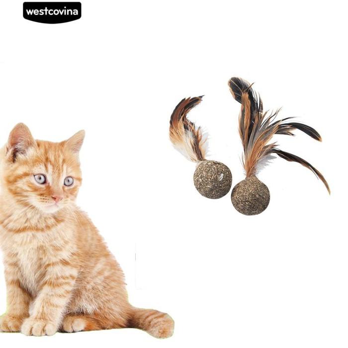 Foto Produk Mainan Kunyah Bentuk Bola untuk Kucing dari Sinarmas17