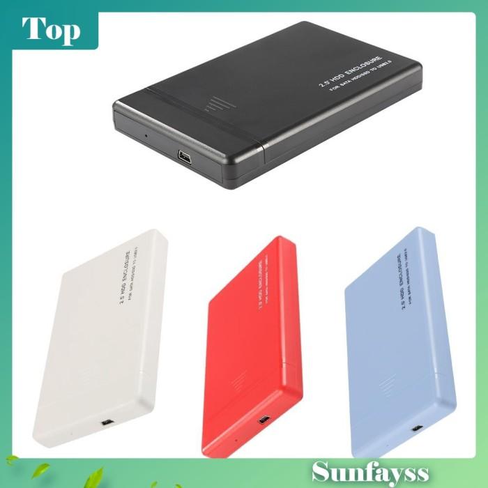 Foto Produk [Sun] Casing Enclosure Hard Disk External SATA 2.5 Inch USB2.0 dari Ravamo Store