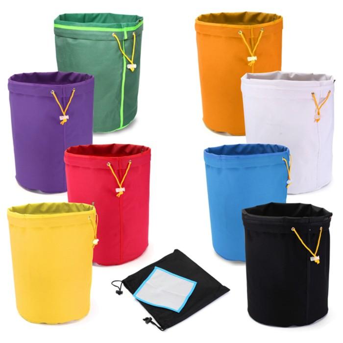 Foto Produk Mb 8Pcs 1 Gallon Bubble Bag Multi-color Herb Filter Bag Plant dari Multishop Bandung