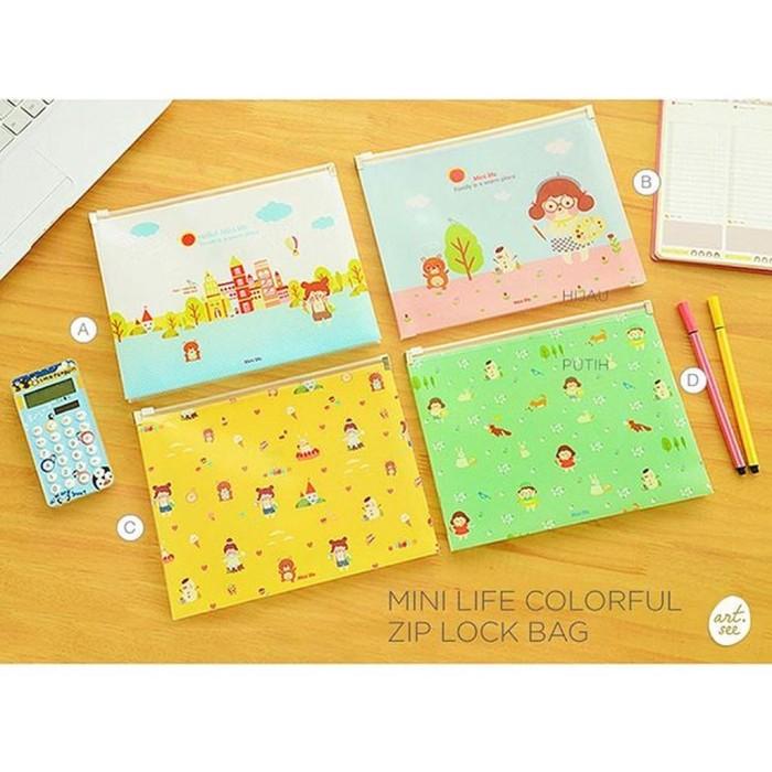 Foto Produk Mini Life Colorful Zip Lock Bag dari warnawarni44