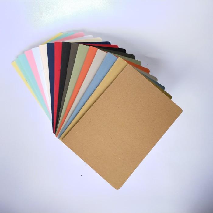 Foto Produk buku tulis polos A5 book paper (blank/plain notebook) - isi polos dari Tattettot