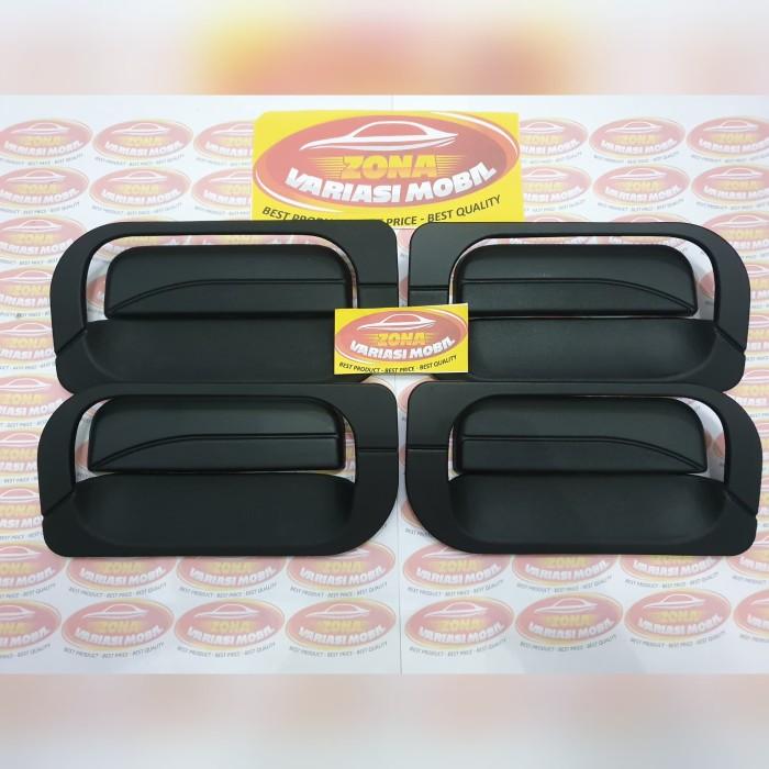 Foto Produk Paket Cover Handle + Outer Handle New Agya Ayla Hitam Black Doff dari Zona Variasi Mobil