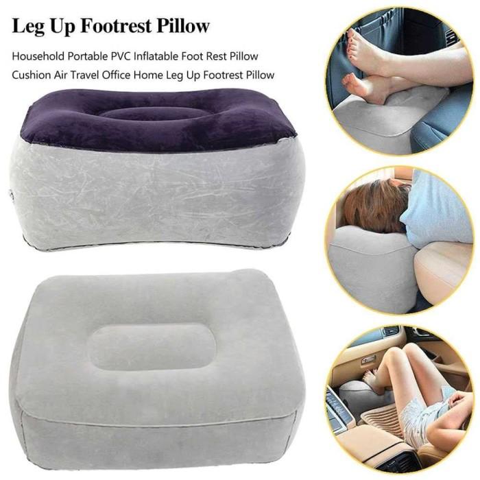 Foto Produk Bantal angin Kaki Mobil Kursi Kecil Anak Car Leg up Foot Rest Pillow dari lbagstore