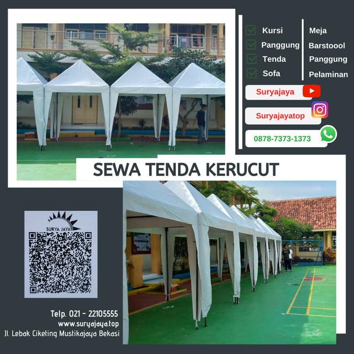 Jual Sewa Tenda Kerucut Cisaranten Kulon Bandung Kota Bekasi Rental Pesta Surya Jaya Tokopedia