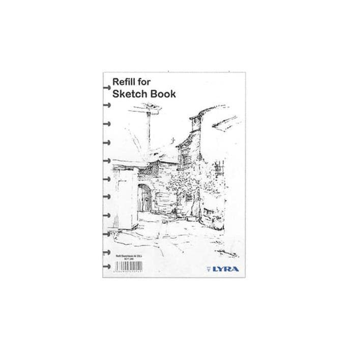 Foto Produk HOT SALE LYRA Sketch Book Refill A5 Terjamin dari ranishop741