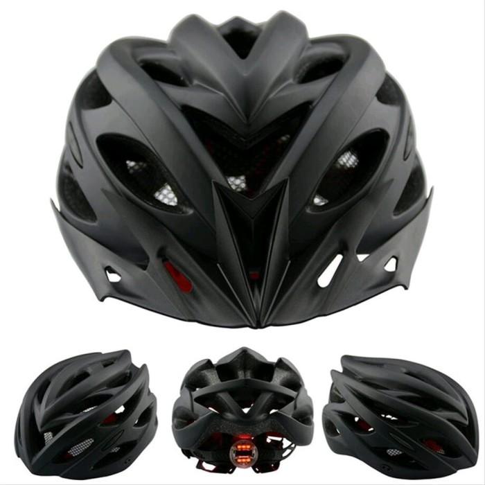Foto Produk Helm sepeda EPS PVC shell dengan lampu backlight dari almastore2020